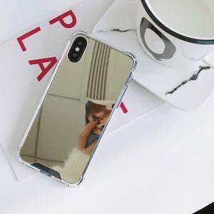 iPhone 7/8/Plus/X/XS Gold Mirror Case